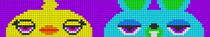 Alpha pattern #65462