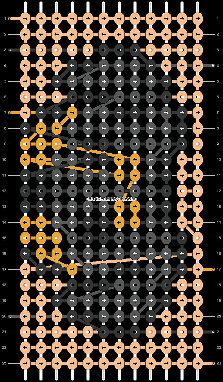 Alpha pattern #65463 pattern