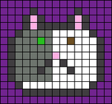 Alpha pattern #65497