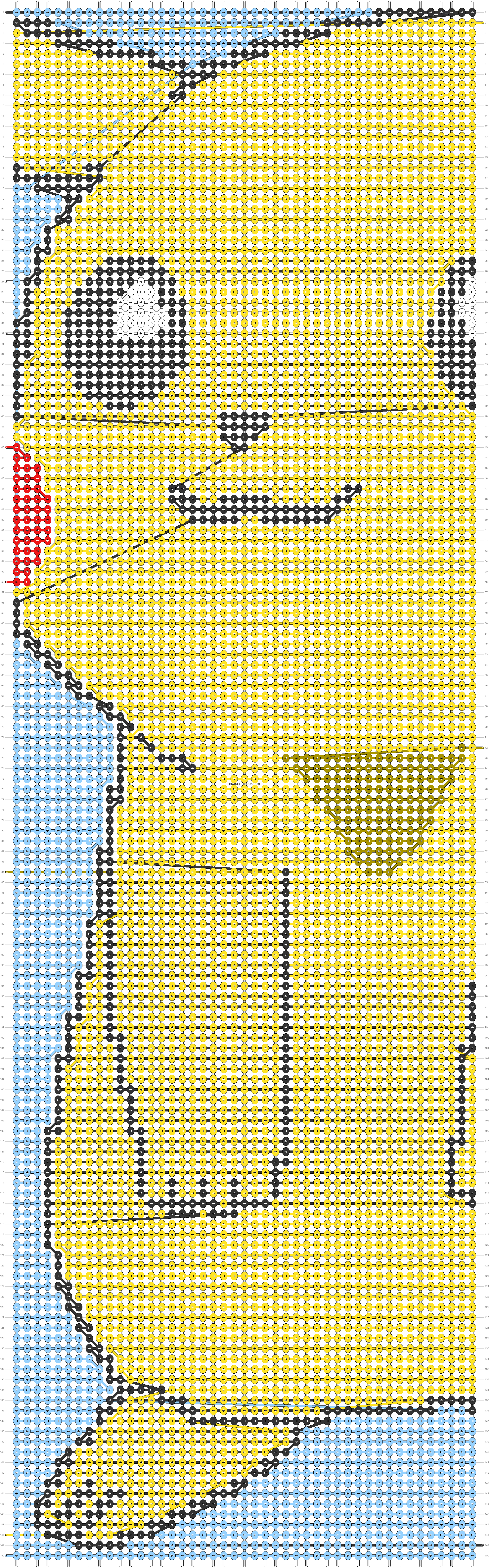 Alpha pattern #65503 pattern