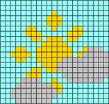 Alpha pattern #65522