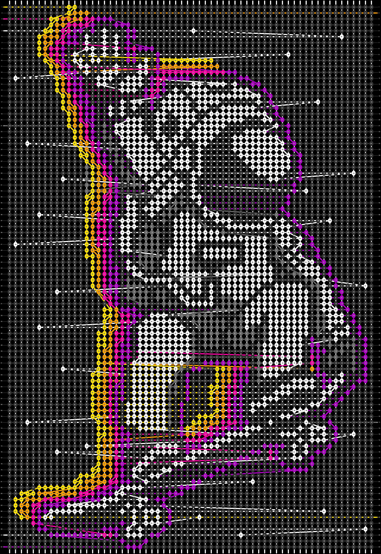 Alpha pattern #65524 pattern