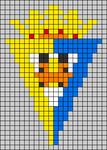 Alpha pattern #65536