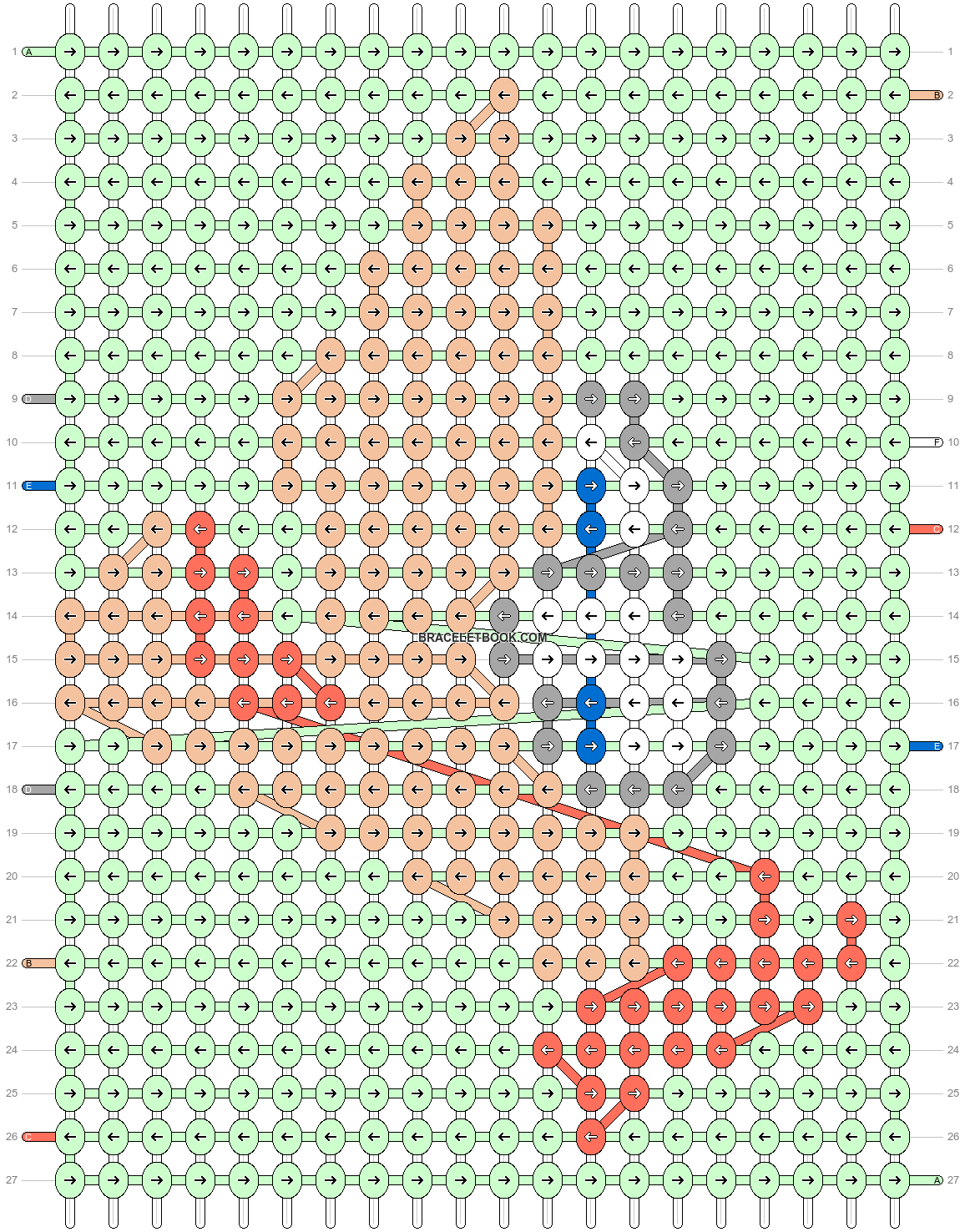Alpha pattern #65559 pattern