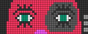 Alpha pattern #65587