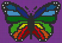 Alpha pattern #65589