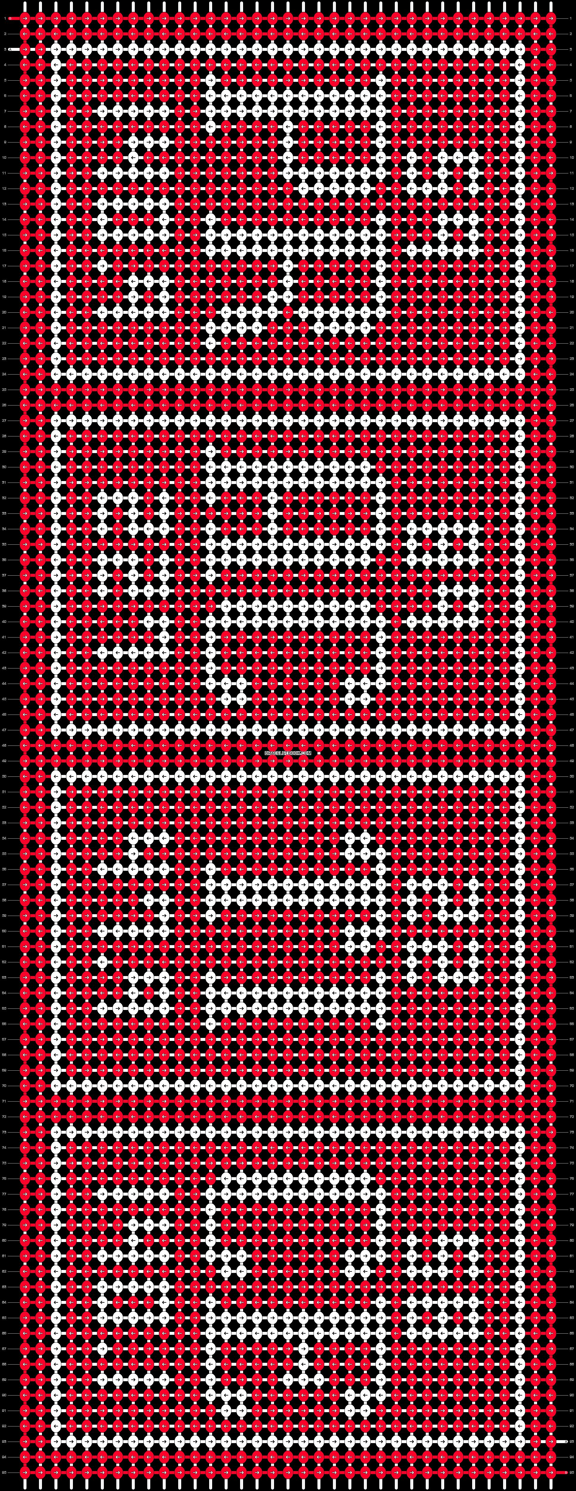 Alpha pattern #65608 pattern