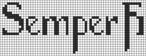 Alpha pattern #65609