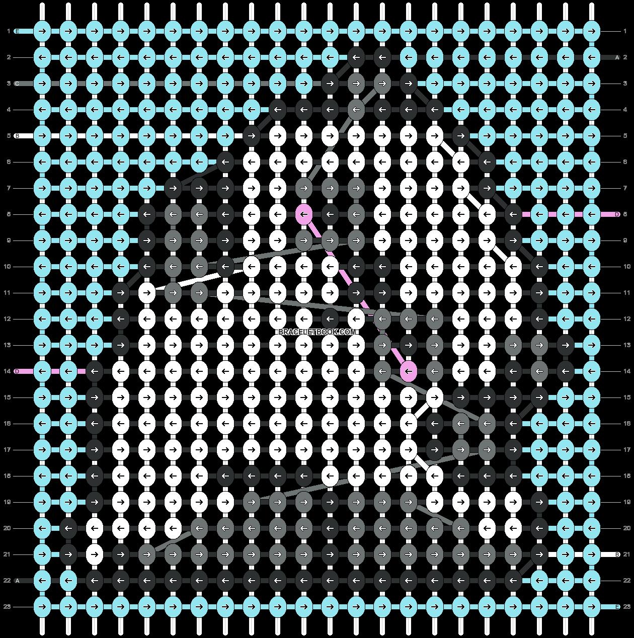Alpha pattern #65620 pattern