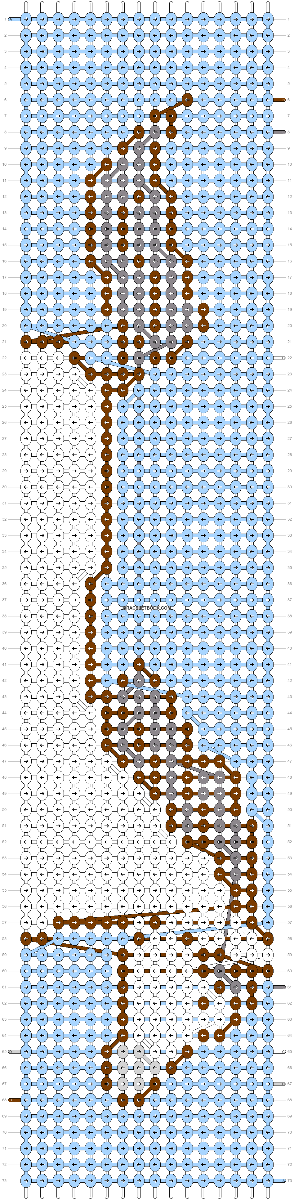 Alpha pattern #65636 pattern