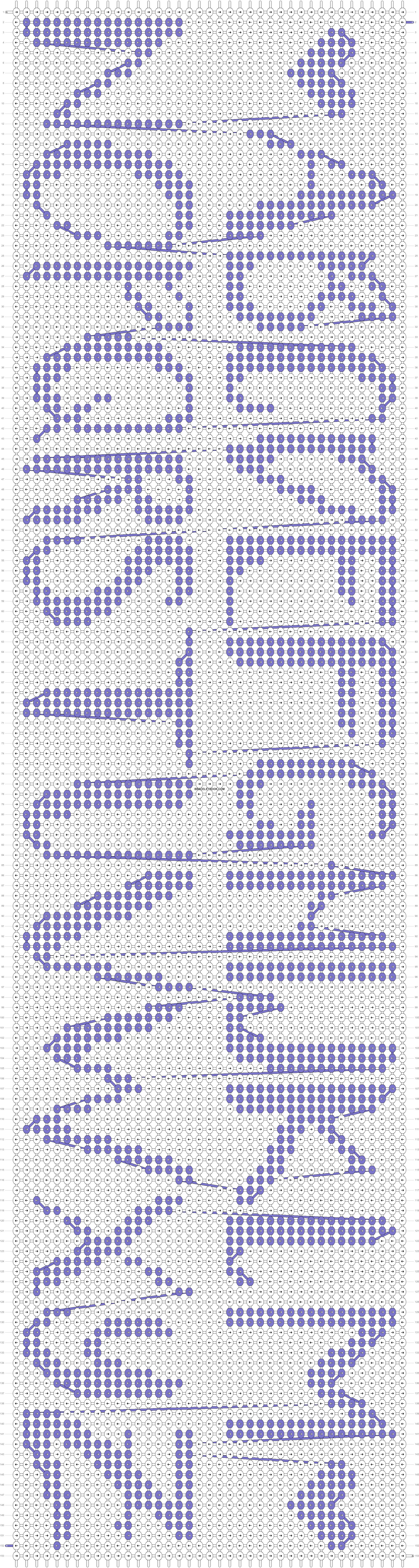 Alpha pattern #65652 pattern