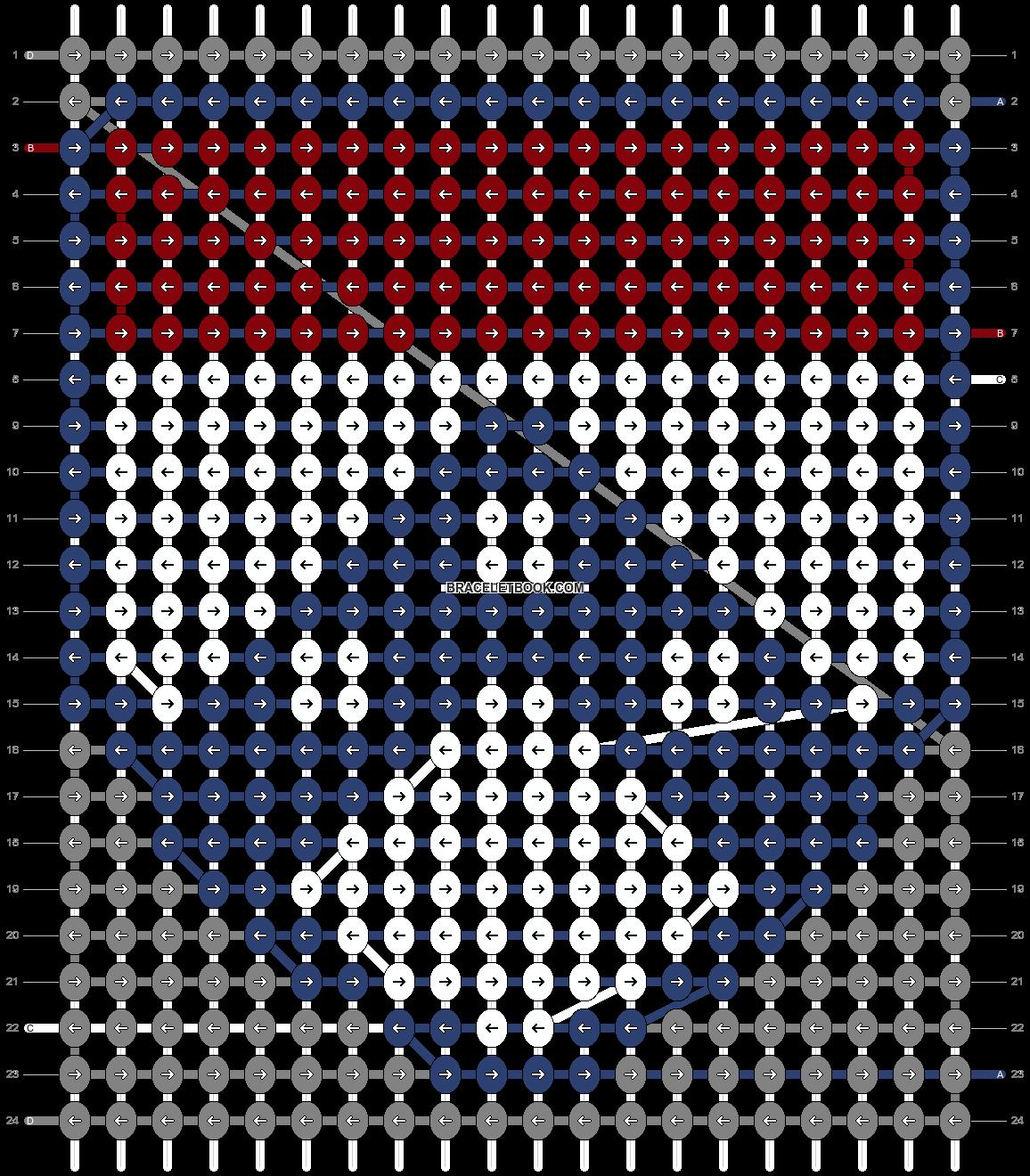 Alpha pattern #65653 pattern