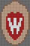 Alpha pattern #65654