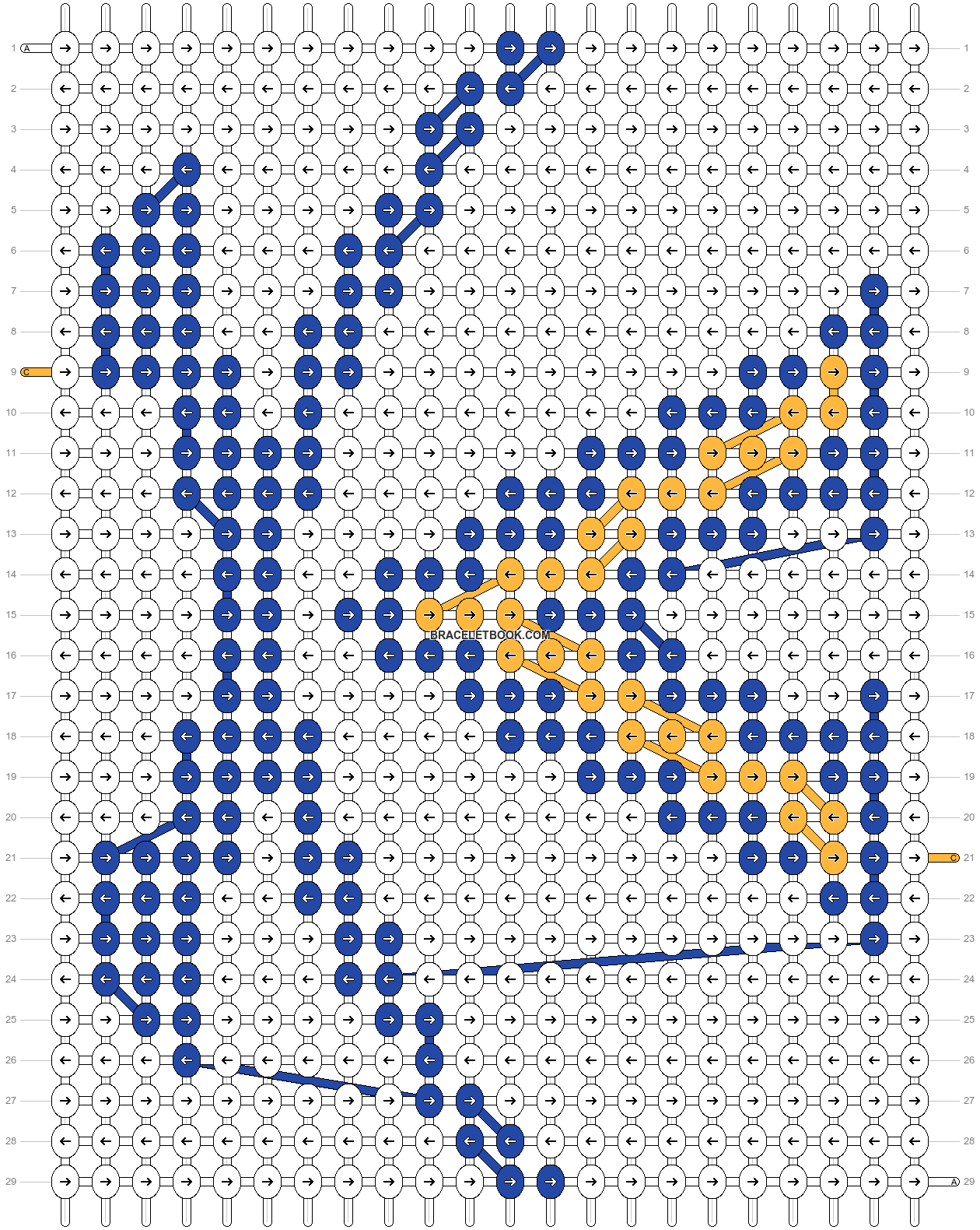 Alpha pattern #65655 pattern