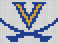Alpha pattern #65655