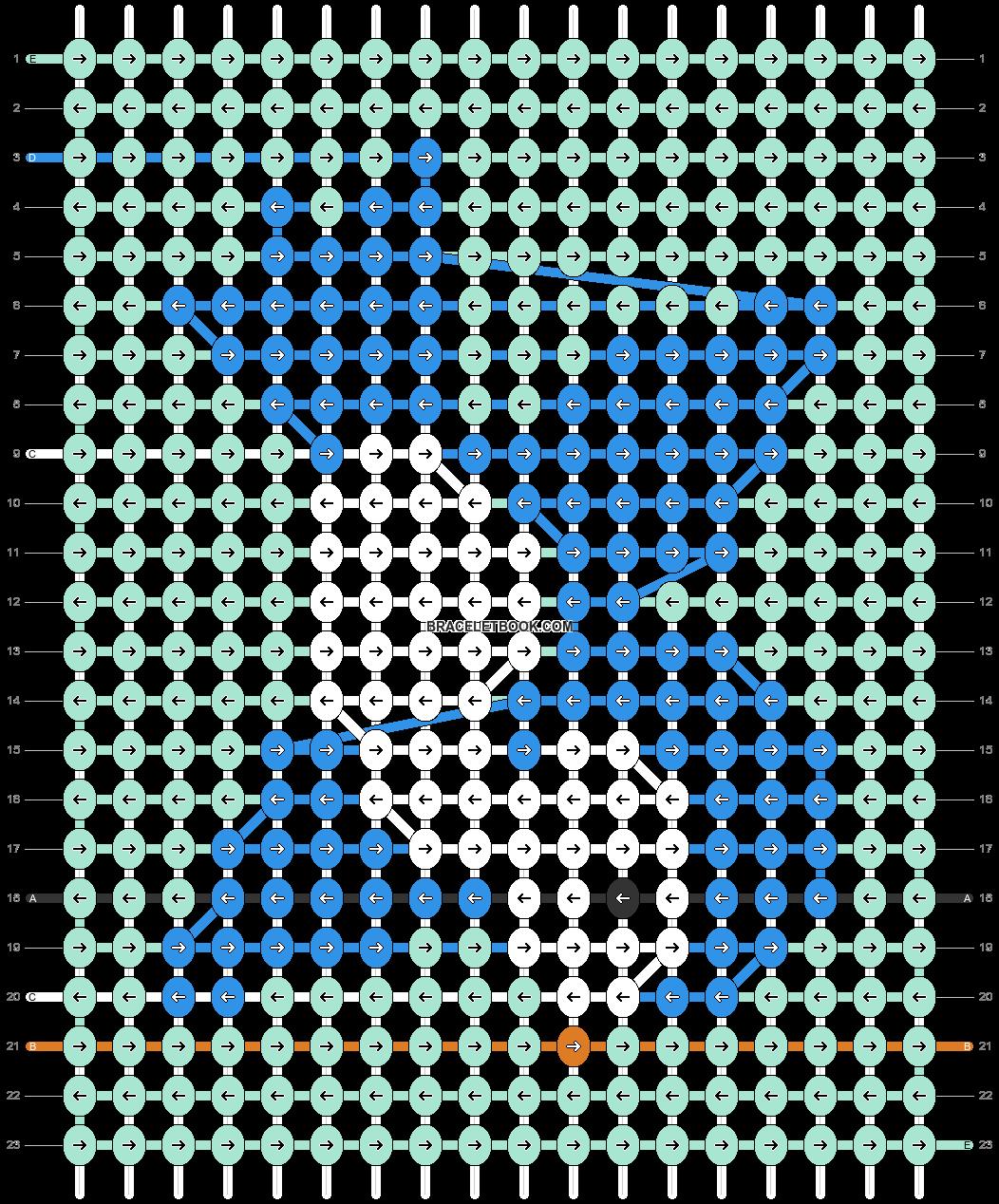 Alpha pattern #65665 pattern