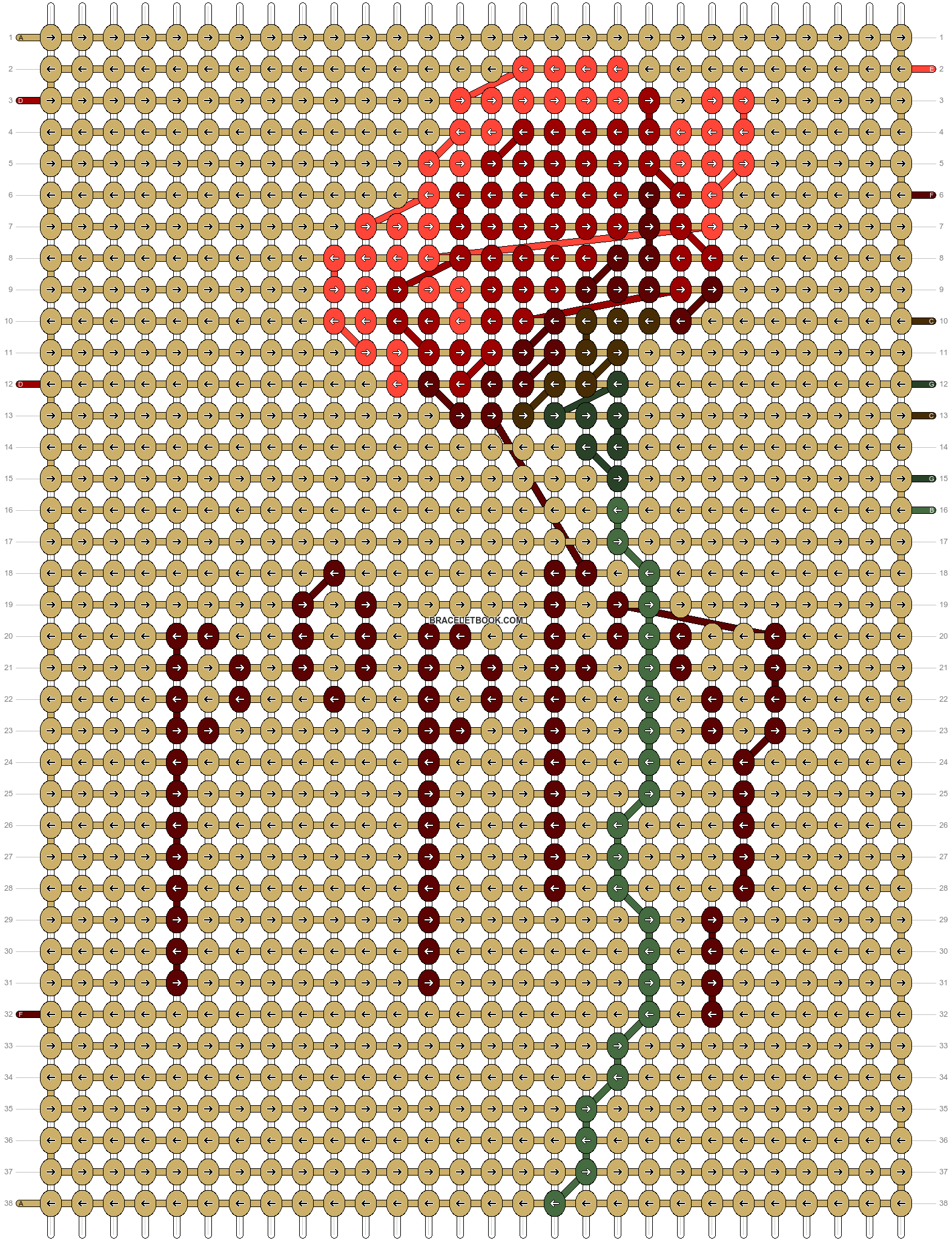 Alpha pattern #65668 pattern