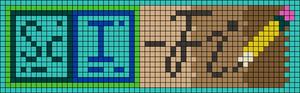 Alpha pattern #65672