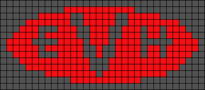 Alpha pattern #65678