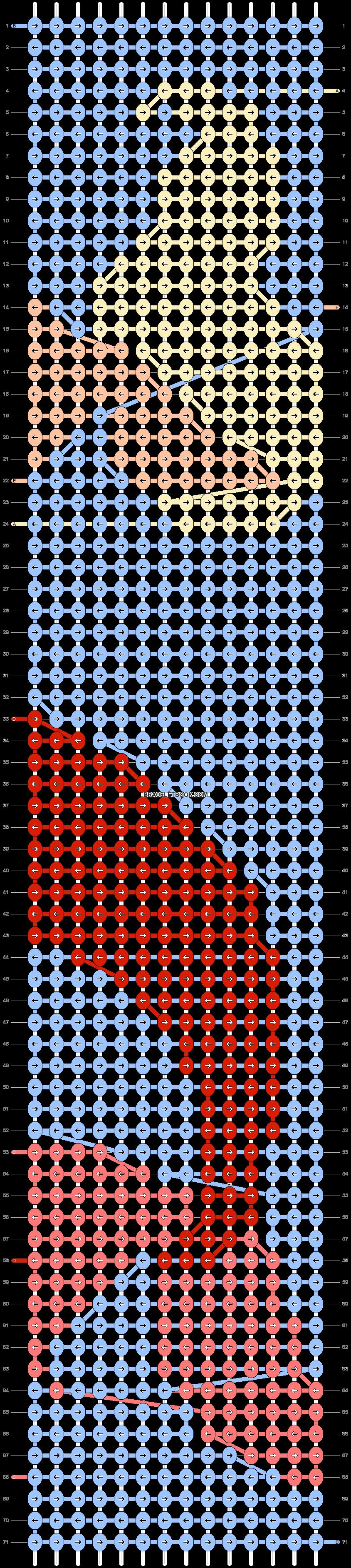 Alpha pattern #65688 pattern