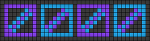 Alpha pattern #65696