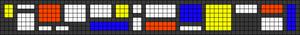 Alpha pattern #65708