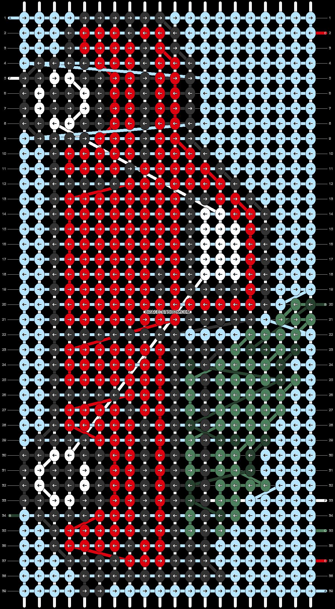 Alpha pattern #65714 pattern