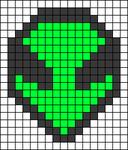 Alpha pattern #65780