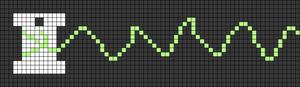 Alpha pattern #65799