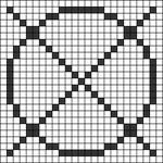 Alpha pattern #65801