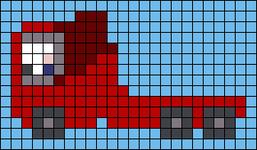 Alpha pattern #65827