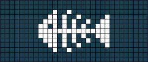Alpha pattern #65836