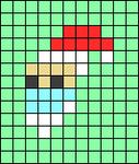 Alpha pattern #65838
