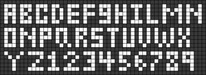 Alpha pattern #65849