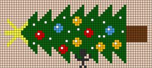 Alpha pattern #65858