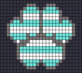 Alpha pattern #65895