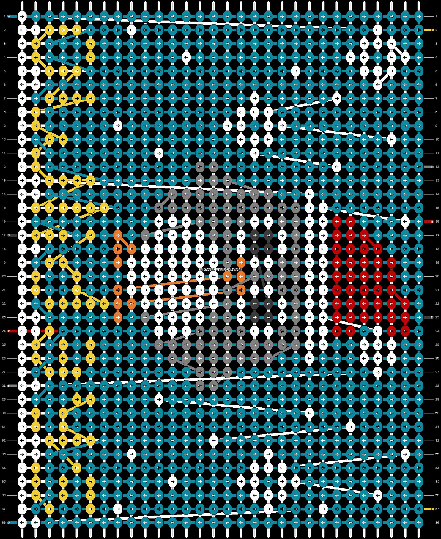 Alpha pattern #65911 pattern