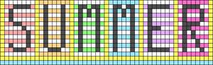 Alpha pattern #65960
