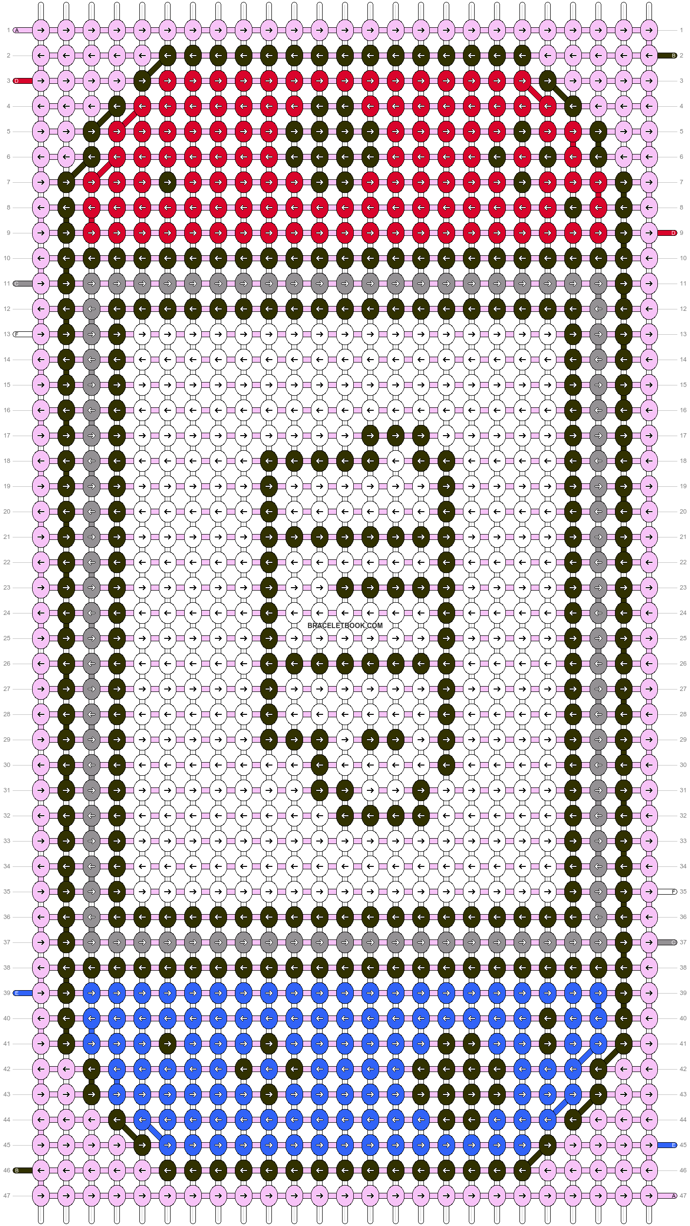 Alpha pattern #65968 pattern