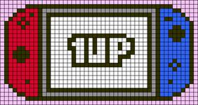 Alpha pattern #65968