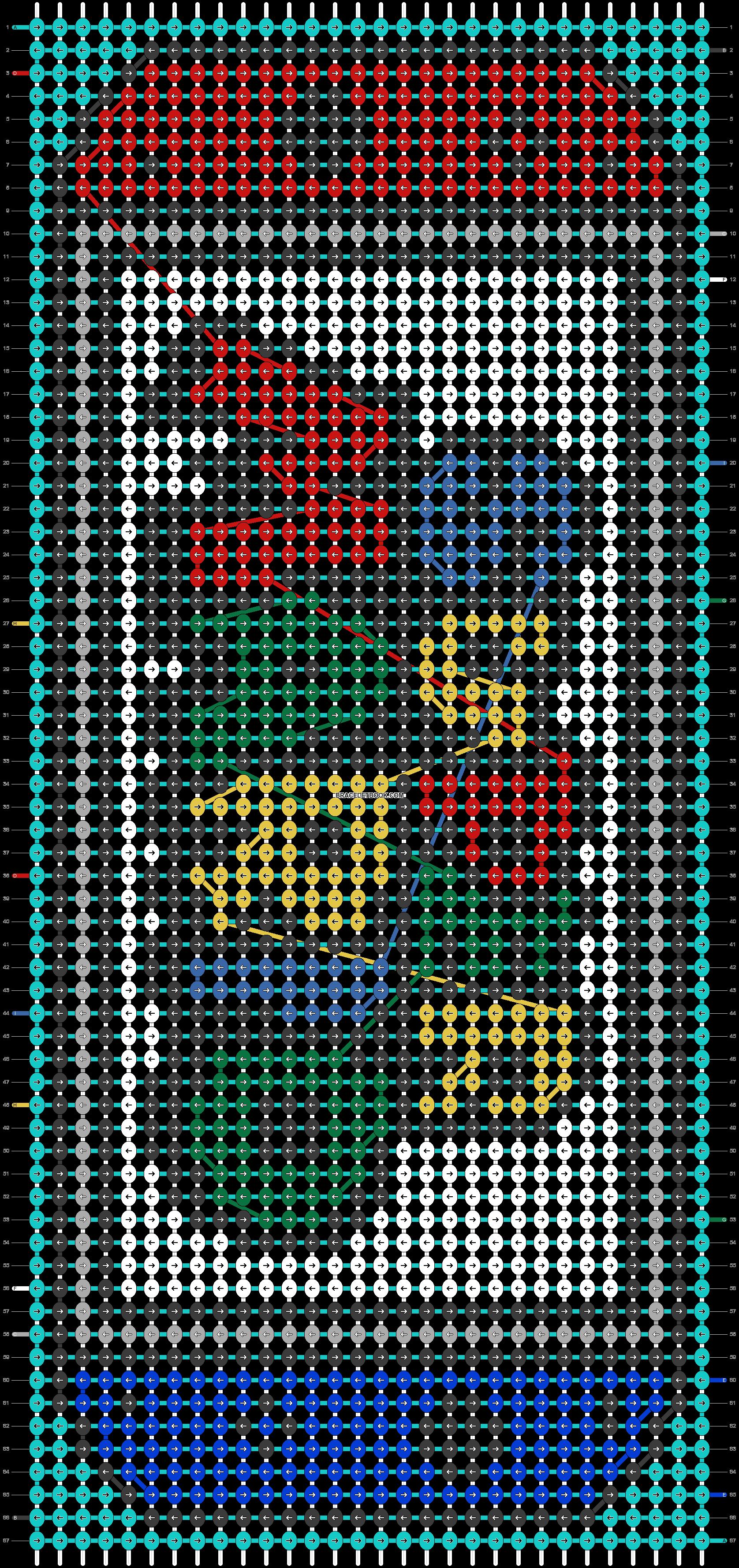 Alpha pattern #65976 pattern