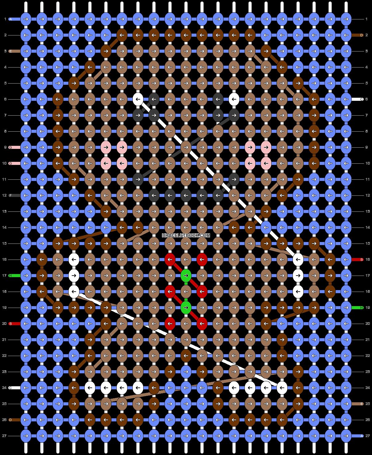 Alpha pattern #66005 pattern