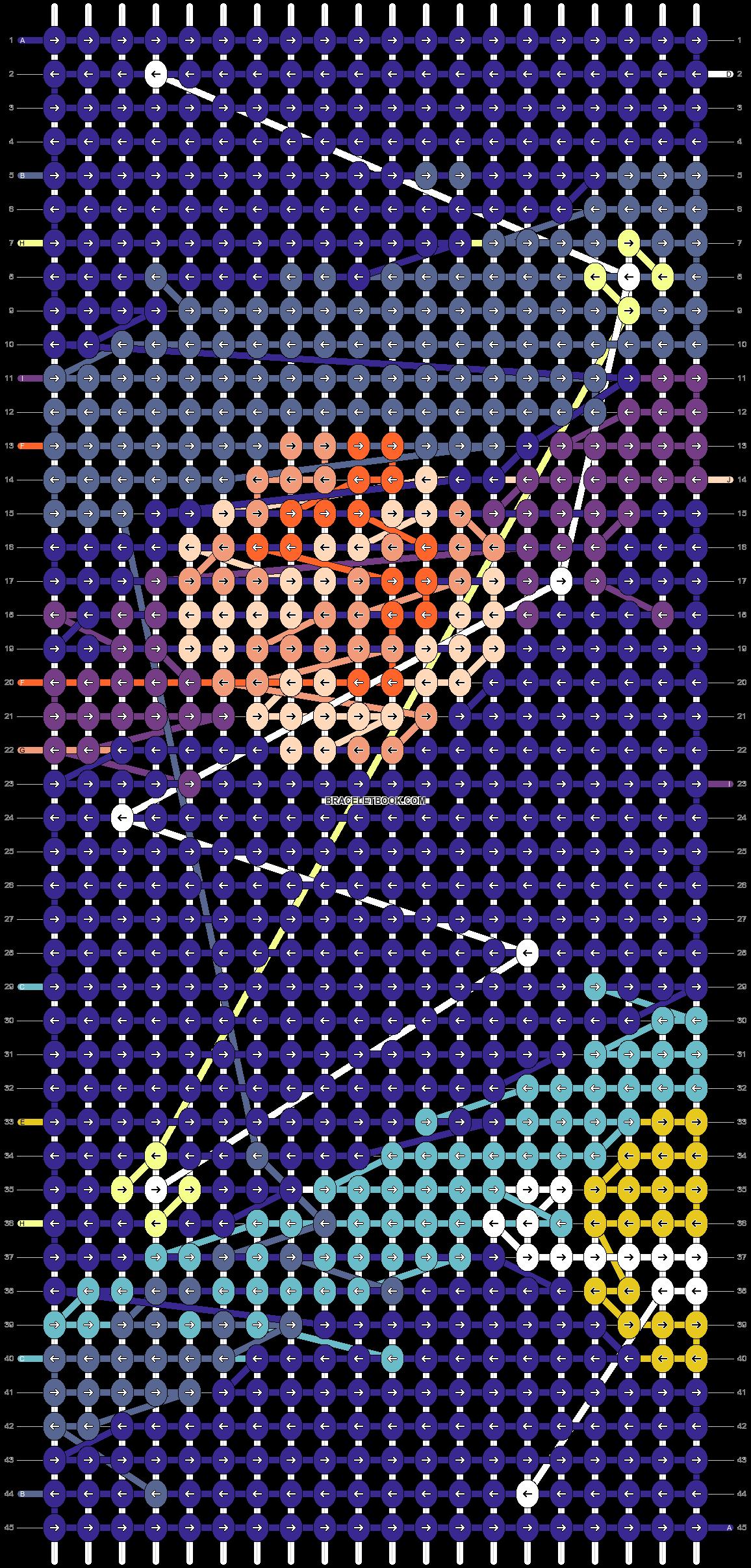 Alpha pattern #66105 pattern