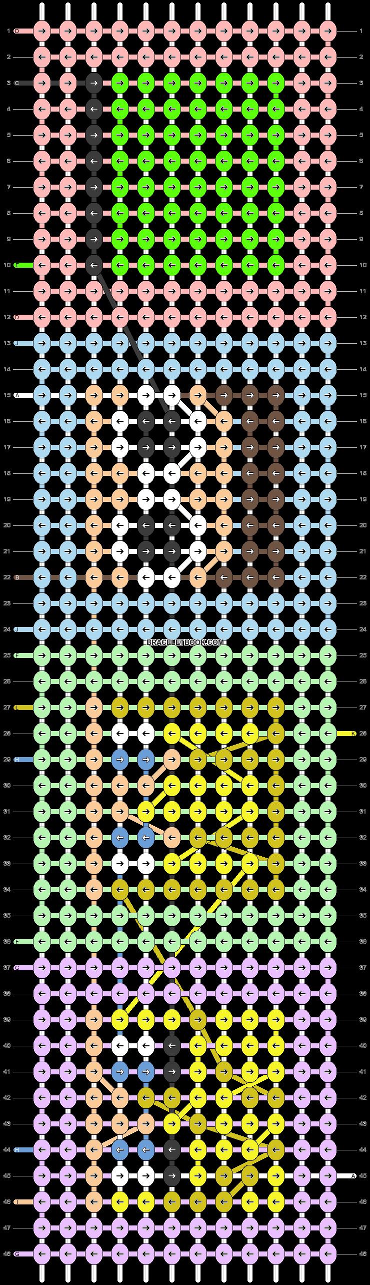 Alpha pattern #66106 pattern