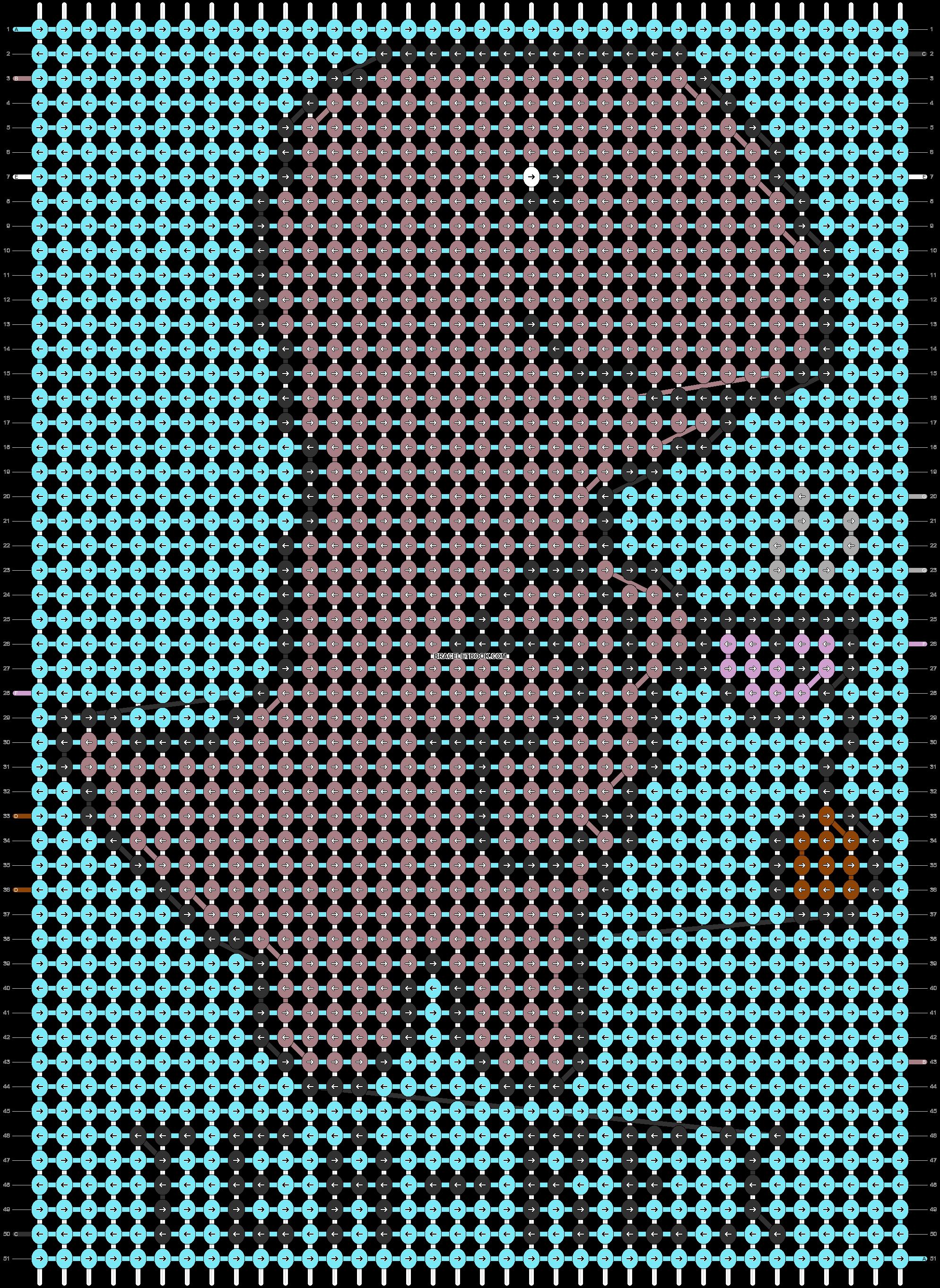 Alpha pattern #66128 pattern