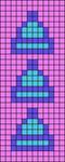 Alpha pattern #66132