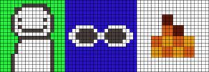 Alpha pattern #66134