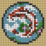 Alpha pattern #66135