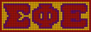 Alpha pattern #66150