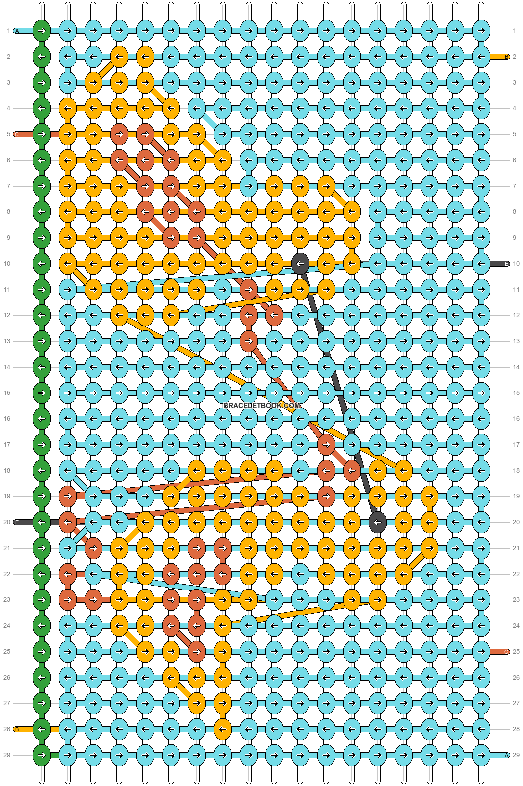 Alpha pattern #66151 pattern